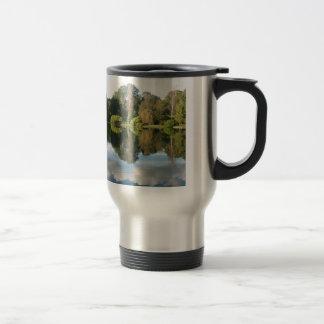 Reflections in water mug