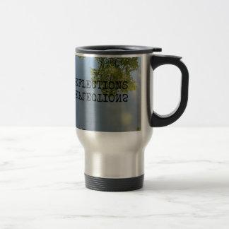Reflections (in water) mug