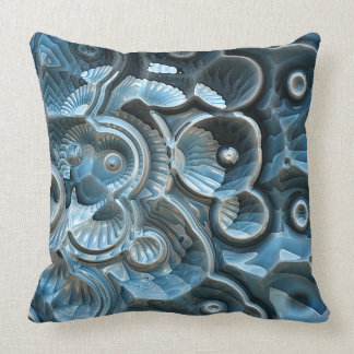 Reflections of A Fractal Fossil Cushion