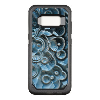 Reflections of A Fractal Fossil OtterBox Commuter Samsung Galaxy S8 Case