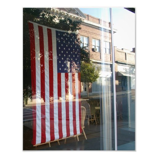 Reflections of a Small Town Art Photo