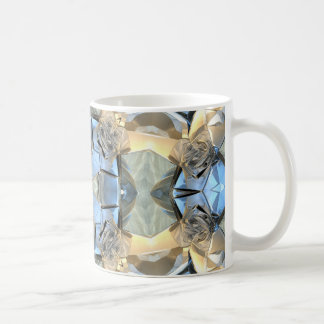 Reflections of Blue And Gold Coffee Mug