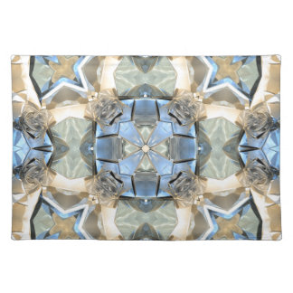 Reflections of Blue And Gold Placemat