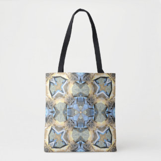 Reflections of Blue And Gold Tote Bag