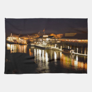 Reflections of good times collection tea towel
