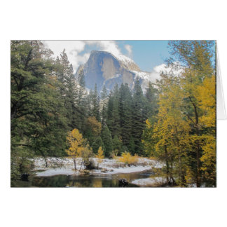 Reflections Of Half Dome Card