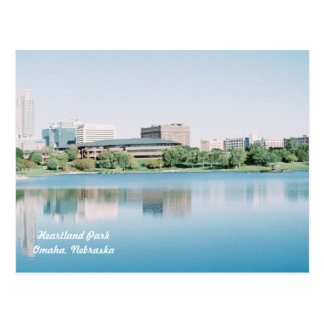 Reflections of  Heartland Park Omaha, Nebraska Postcard
