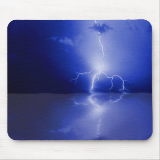 Reflections of lightning, mousepad