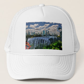 REFLECTIONS OF OZ  Brisbane River Waterfalls Trucker Hat