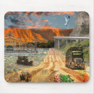 REFLECTIONS OF OZ Oodnadatta Track Mouse Pad