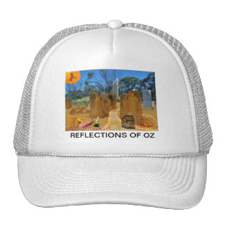 REFLECTIONS OF OZ Pinnicles To Perth Trucker Hat
