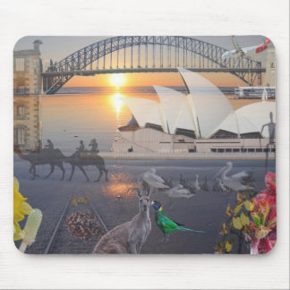 REfLECTIONS OF OZ  Sydney  Port Arthur Mouse Pad