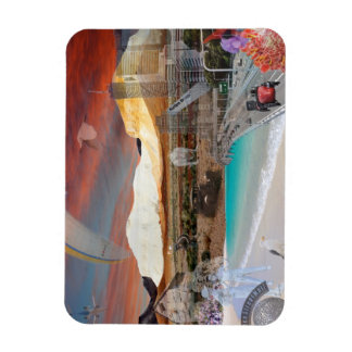 REFLECTIONS OF OZ The Breakaways to Brisbane Rectangular Photo Magnet