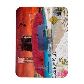 REFLECTIONS OF OZ    ULURU Ayers Rock Rectangular Magnet