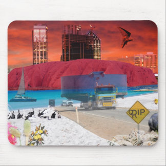 REFLECTIONS OF OZ Uluru to the coast Mouse Pad