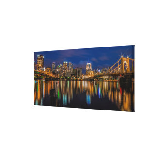 Reflections of Pittsburgh Canvas Print