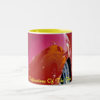 reflections of the fast, Reflections Of The Fast Two-Tone Coffee Mug