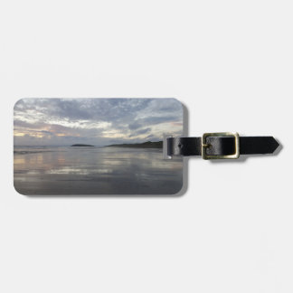 Reflections on Gower Peninsula Beach Luggage Tag
