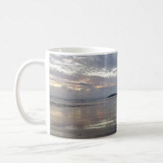 Reflections on Gower Peninsula Beach Mug