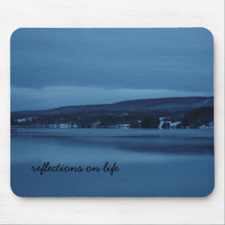 Reflections on Life Mouse Pad