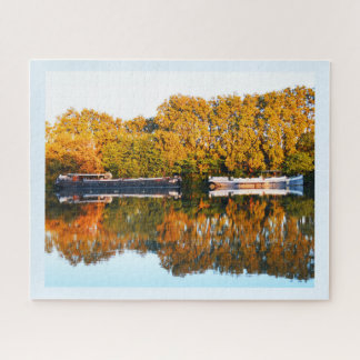 Reflections on the River Rhone Jigsaw Puzzle
