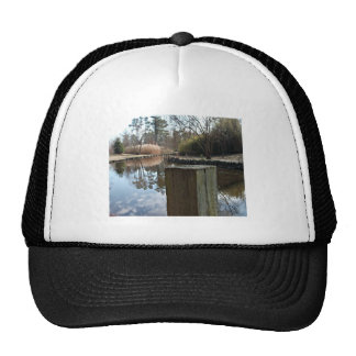 Reflections on the Water Mesh Hats