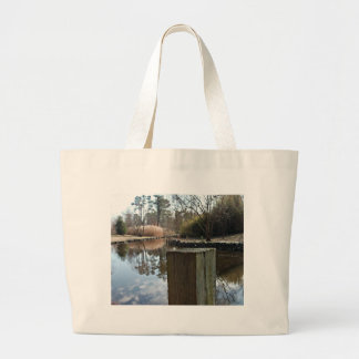 Reflections on the Water Jumbo Tote Bag
