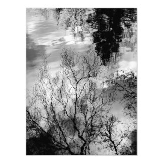 Reflections on water photo art