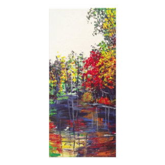 Reflections Painting Rack Card