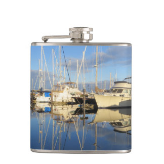 Reflections Yacht and Sailboat Flask