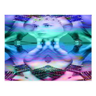 Reflective Dream Postcard
