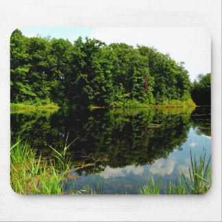 Reflective Ponds Mouse Pad