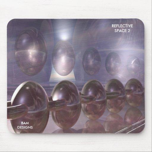 REFLECTIVE SPACE 2 mousepad