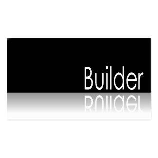 Reflective Text - Builder - Business Card