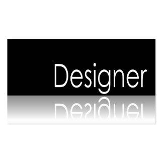 Reflective Text - Designer - Business Card