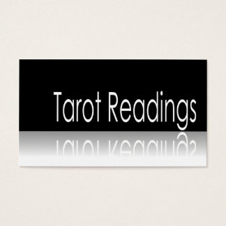 Reflective Text - Tarot Readings - Business Card