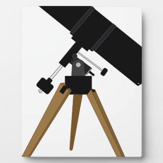 Reflector Telescope Plaque