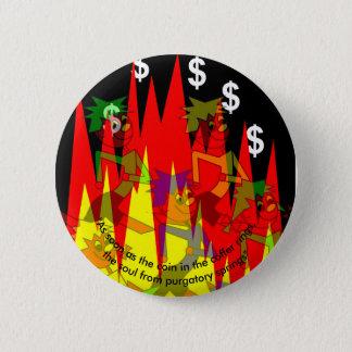 Reformation anniversary 6 cm round badge