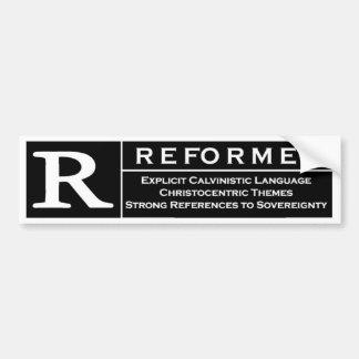 Reformed Bumper Sticker