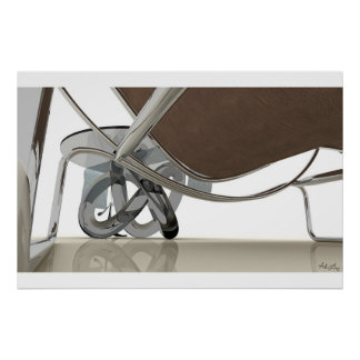 Refracting Reflections Poster