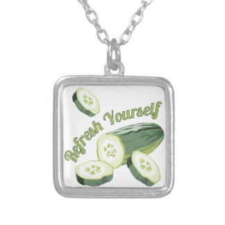 Refresh Yourself Square Pendant Necklace