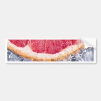 Refreshing Grapefruit Bumper Sticker