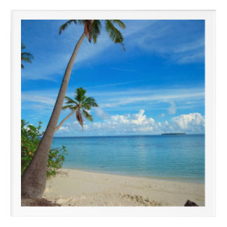"Refreshing Maldives, Acrylic Wall Art, 12"" x 12"" Acrylic Print"
