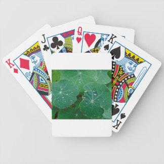 Refreshing Rain Drops Bicycle Playing Cards