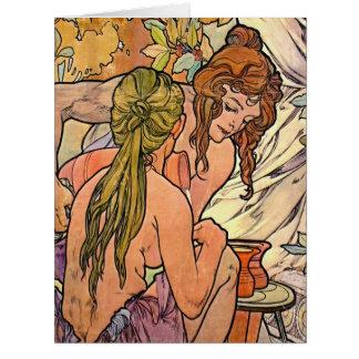 Refreshment 1896 card