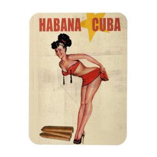 Refrigerating magnet Small Vintage Cuba