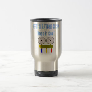 Refrigeration Techs Keep it Cool.png Stainless Steel Travel Mug