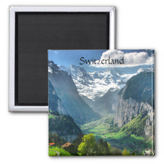 Refrigerator Magnet Awesome Switzerland Alps