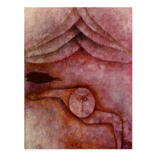 Refuge by Paul Klee Postcard