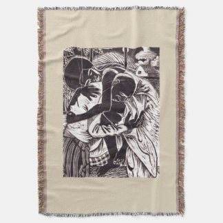 Refuge in Your Arms Ethnic Throw